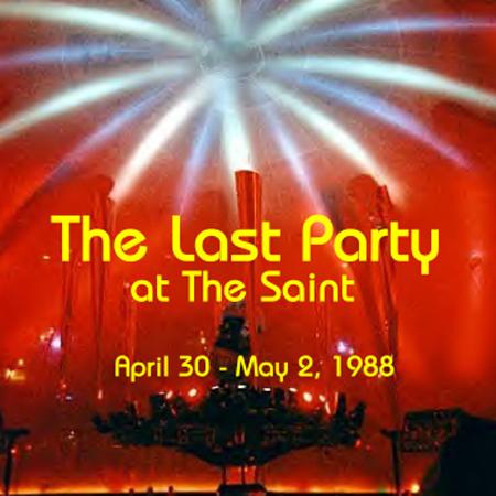 Last Party at the Saint Jim Burgess