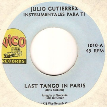 Julio Gutierrez Last Tango In Paris